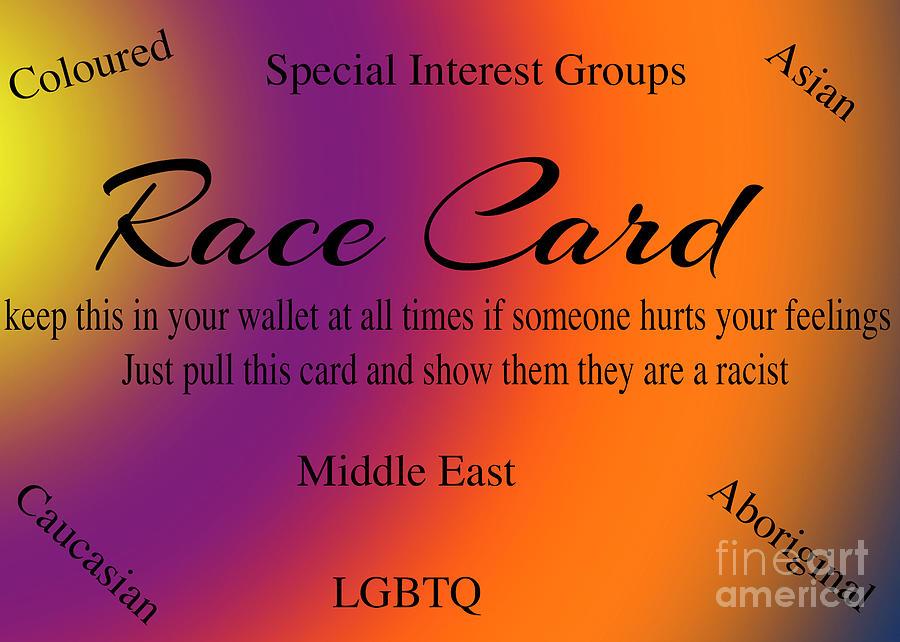 Race Card by Jim Hatch