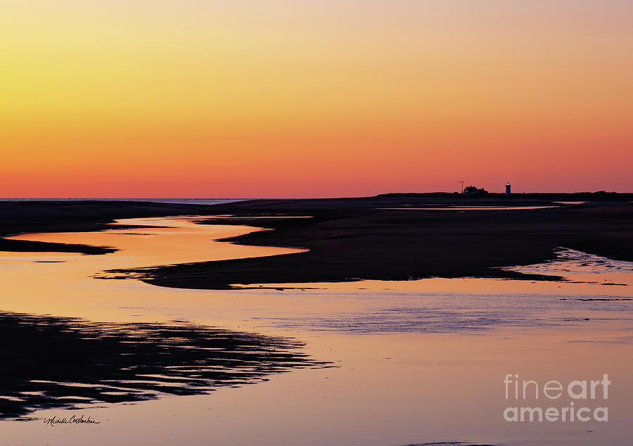 Race Point Sunset by Michelle Constantine