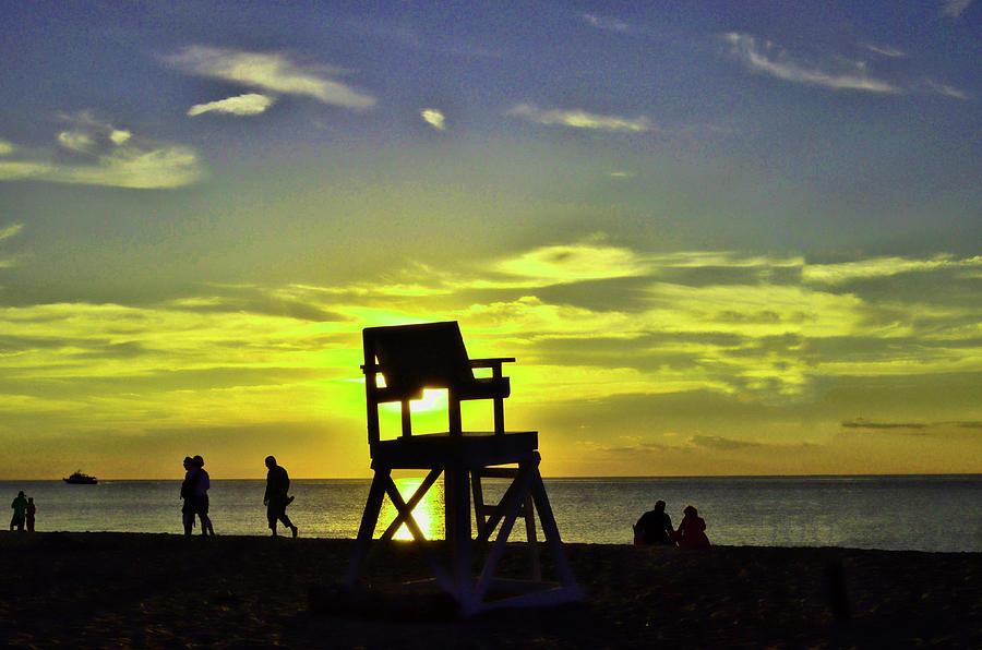 Racepoint Beach Sunset Photograph