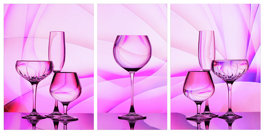 Radiant - Triptych Photograph