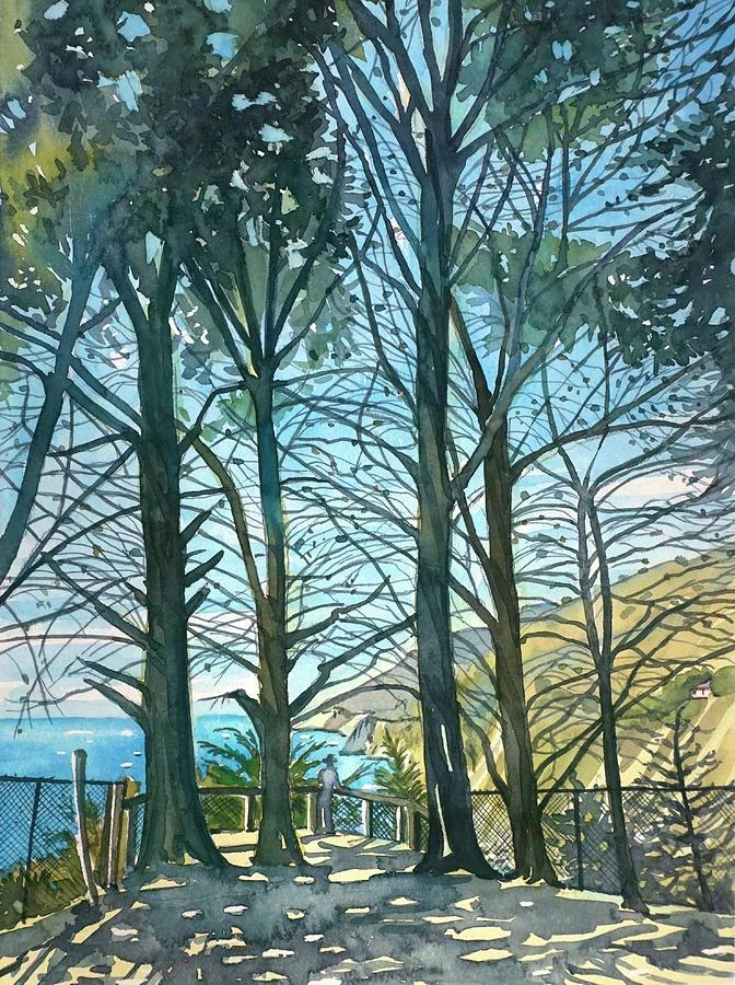 Ragged Point Sunshine Painting