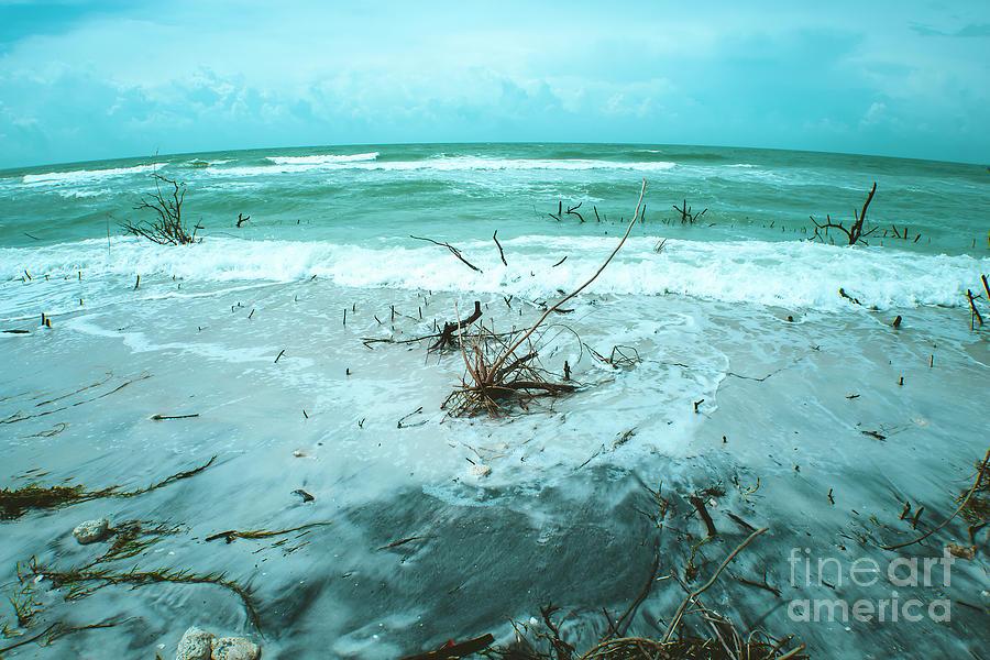 Ominous Photograph - Raging Sea by Felix Lai