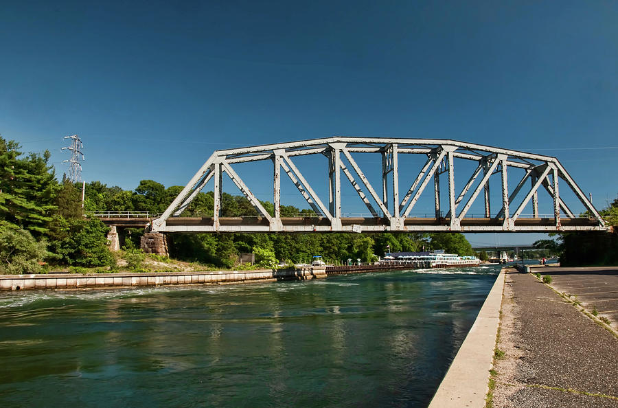 Railroad Bridge Photograph