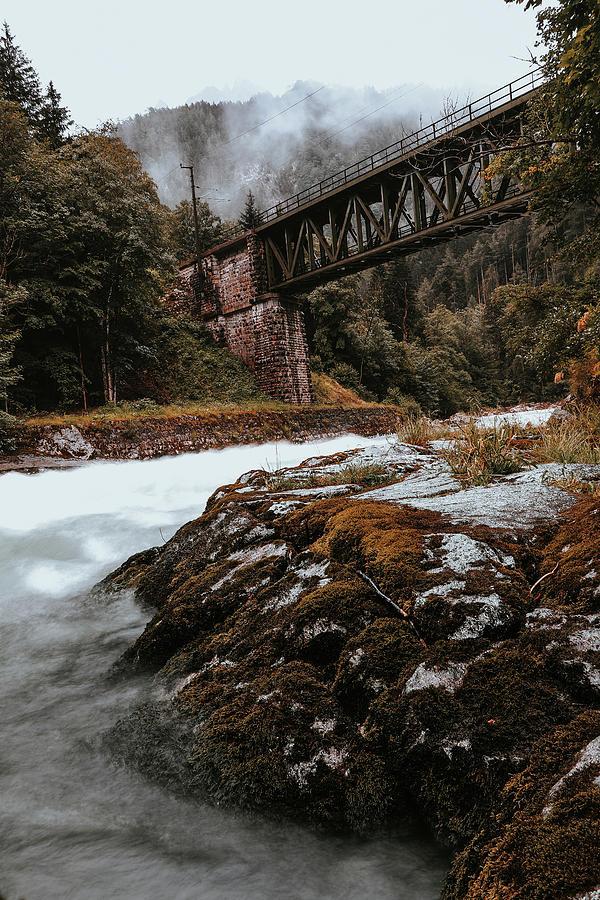 Railway Bridge In Gesause National Park Photograph
