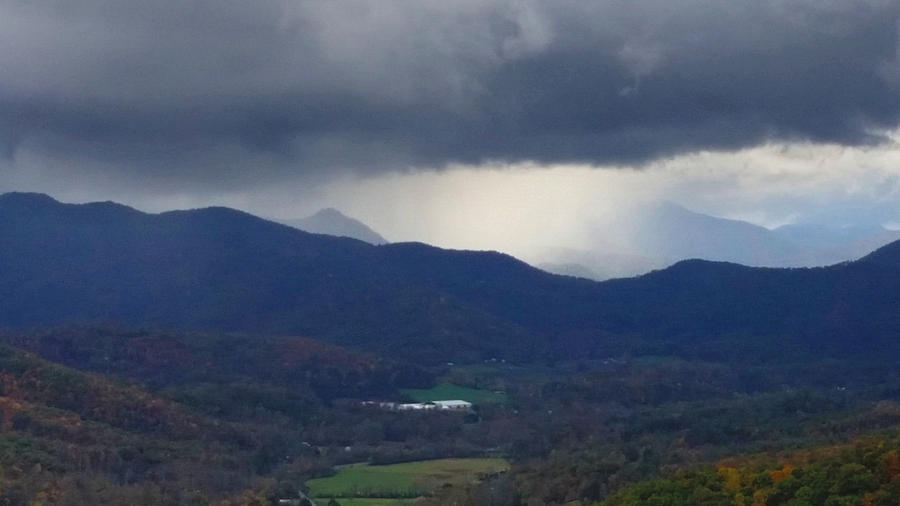 Rain on the Mountain by Ally White