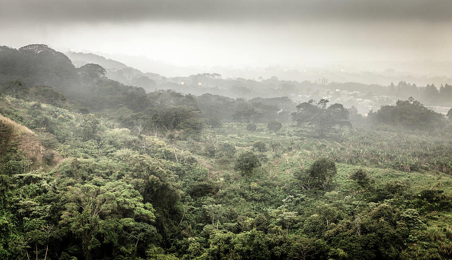 Rain Over Countryside In Costa Rica Photograph