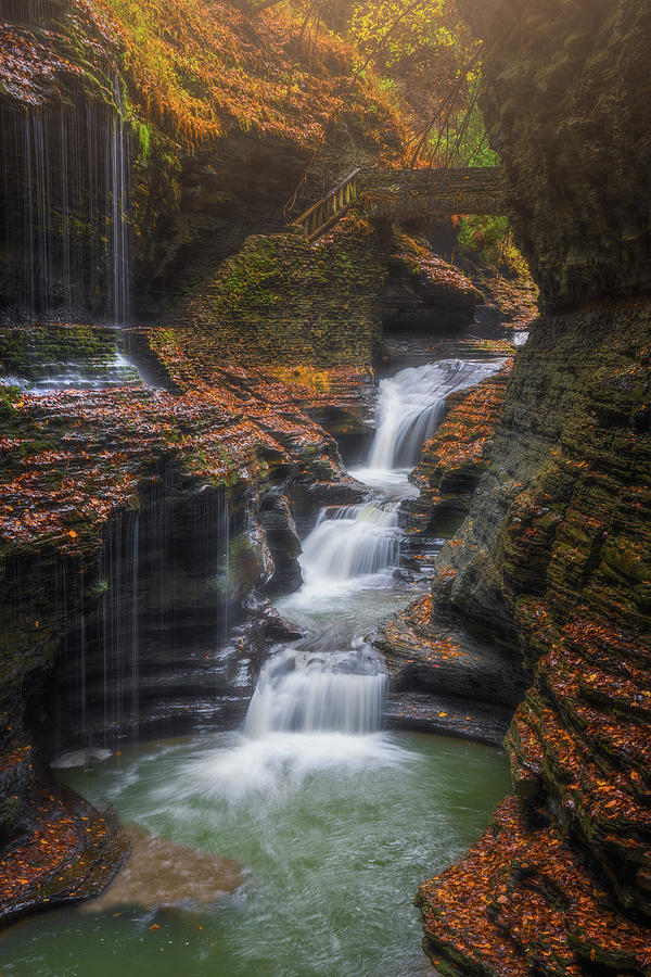 Rainbow Falls by Darren White