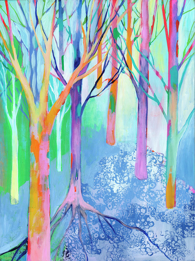 Rainbow Forest II Painting