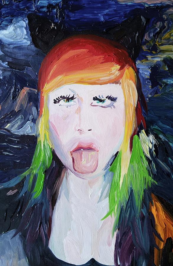 Rainbow Painting - Rainbow Pop by Joseph Demaree