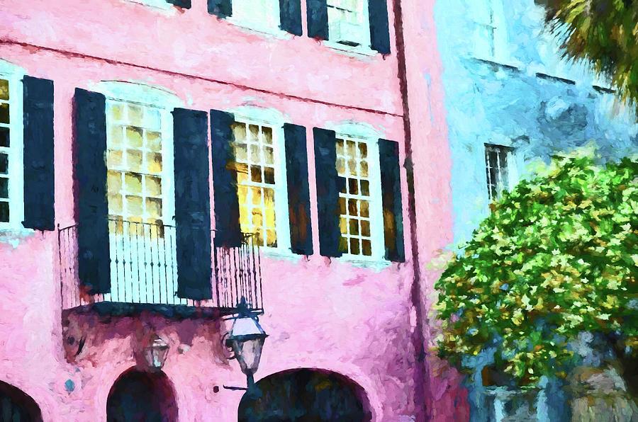 Rainbow Row 3 - Charleston Photograph