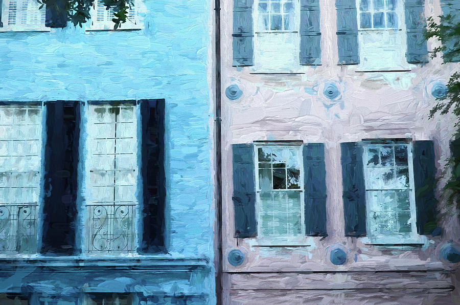 Rainbow Row 4 - Charleston Photograph