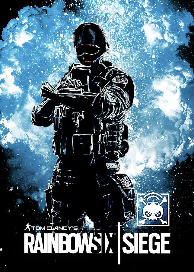 R6 Siege Operator Year2 Phone Wallpaper by EDICH-art on