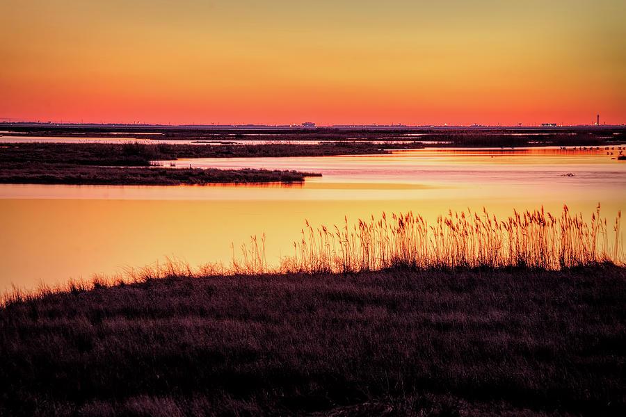 Rainbow Sunset At Forsythe by Kristia Adams