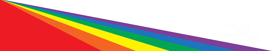 Rainbow Web Banner With Copy Space by Bigalbaloo Stock