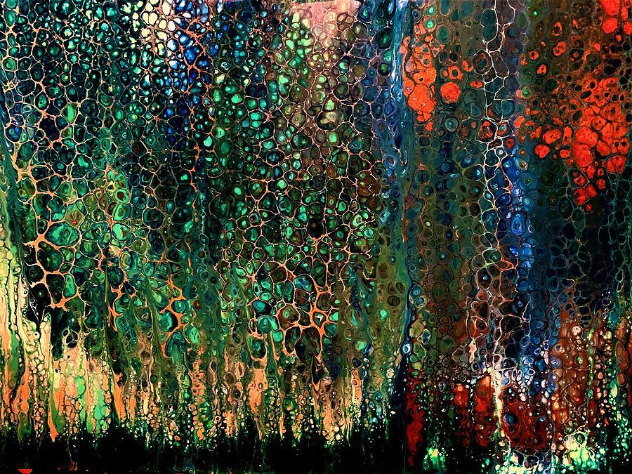 Rainforest Sunset Painting
