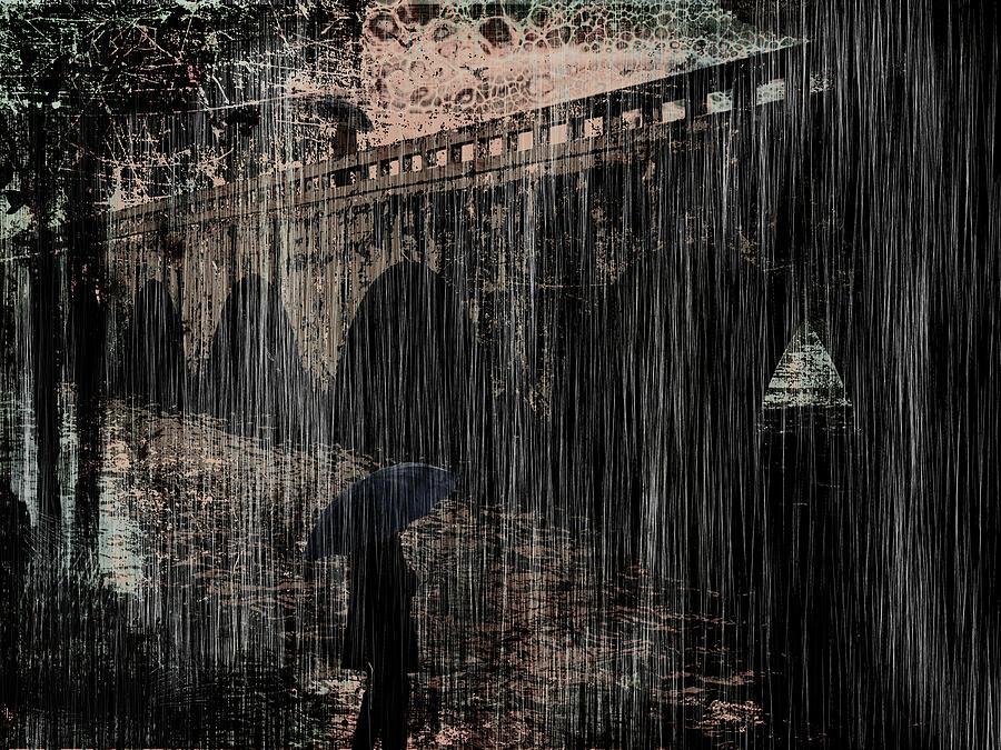 Dark Rainy Night by Sandra Selle Rodriguez