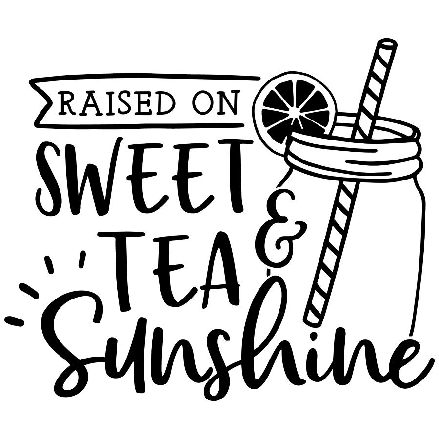 Raised on sweet tea and sunshine by Passion Loft
