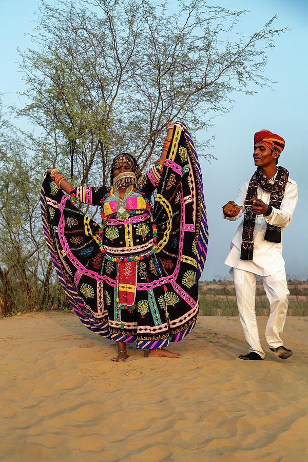 Rajasthan Folk Dance by Kay Brewer