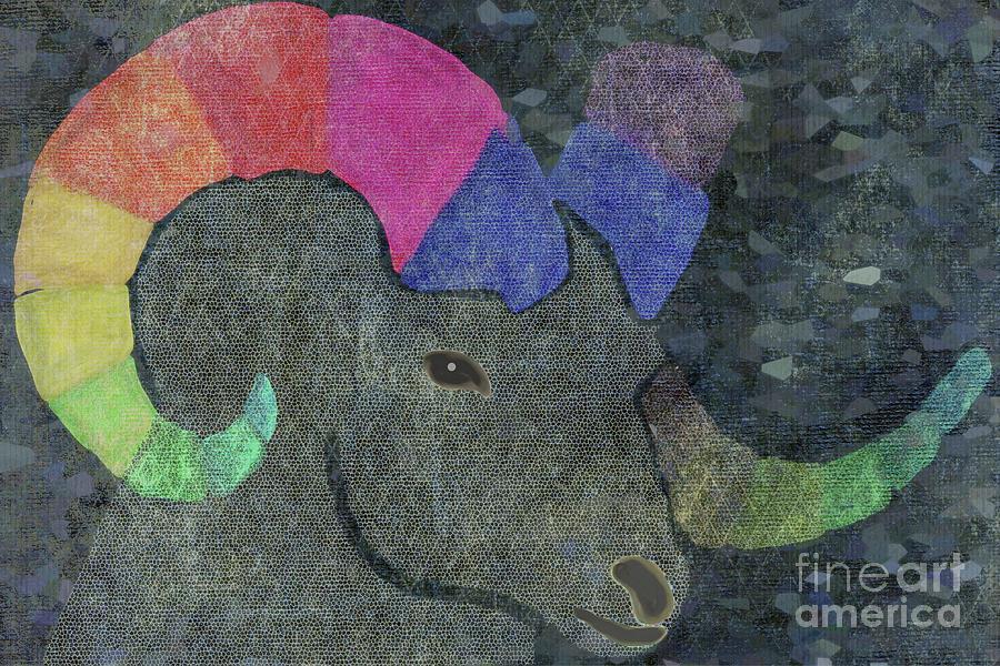 Ram Head by Priscilla Wolfe