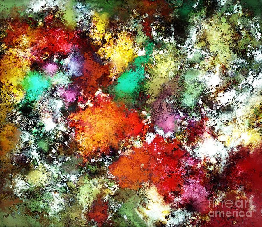 Oranges Digital Art - Ramble by Keith Mills