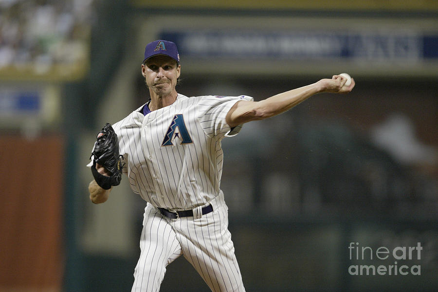 Randy Johnson Photograph by Rich Pilling