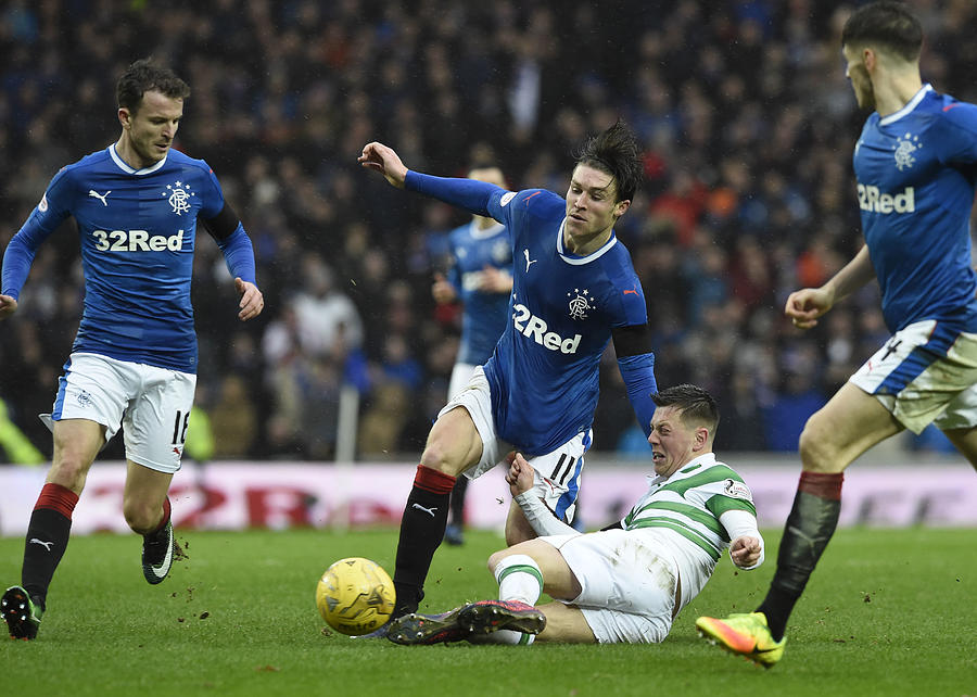 Rangers v Celtic - Ladbrokes Scottish Premiership - Ibrox Stadium Photograph by Ian Rutherford - PA Images