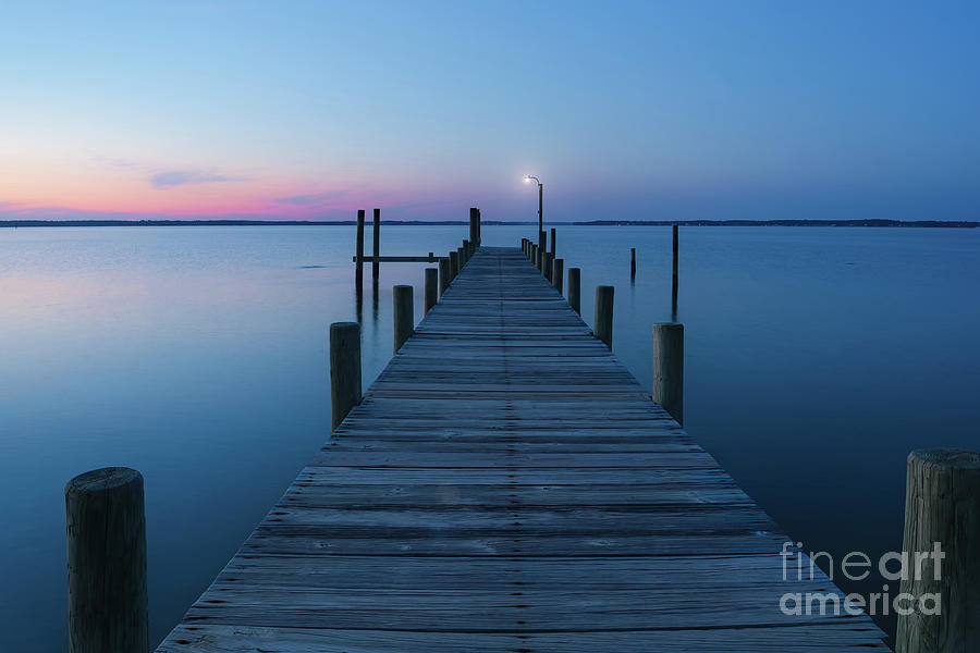 Rappahannock River Blues Photograph