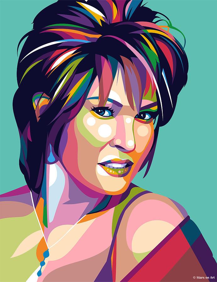 Raquel Welch Mixed Media
