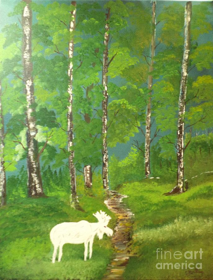 Rare Moose Sighting by Donald Northup