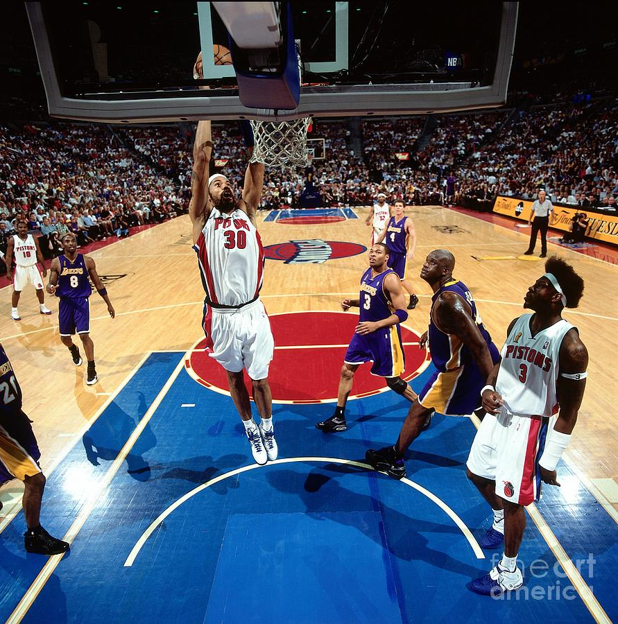 Rasheed Wallace Photograph by Andrew D. Bernstein