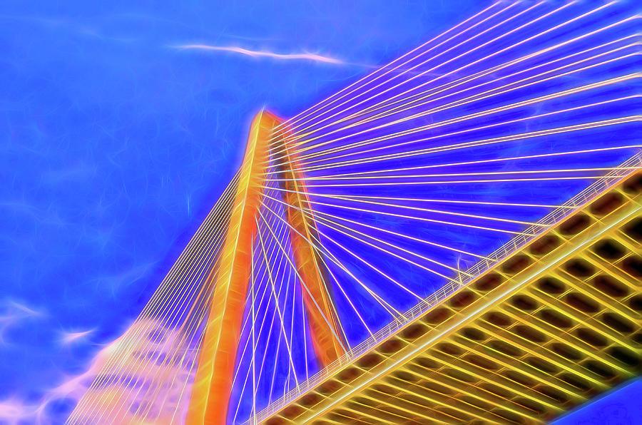 Ravenel Bridge  5 - Charleston Photograph