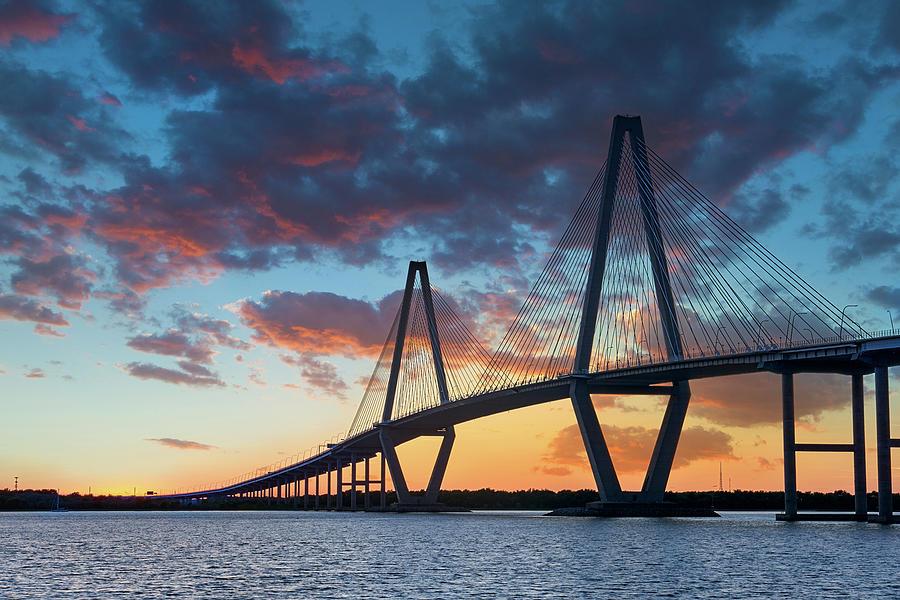 Ravenel Bridge in Charleston by Jon Glaser