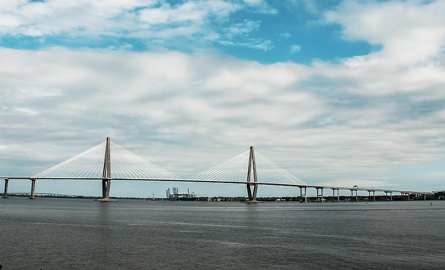 Ravenel Bridge Photograph