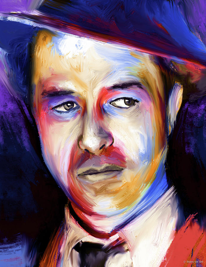 Ray Milland Painting