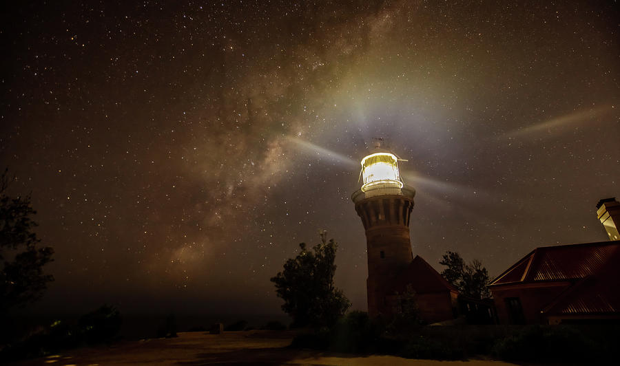 Australia Photograph - Reaching out to The Milky Way by Chris Cousins