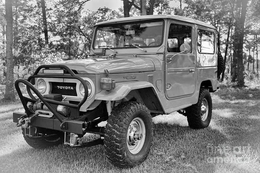 Read For The Trail - Vintage Toyota Fj Photograph