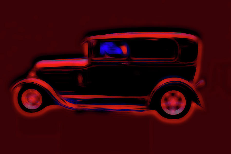 Really Really Red Deuce Coupe by Cathy Anderson