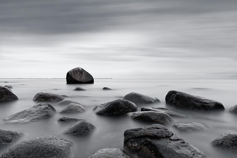 Stones Photograph - Reassurance by Ralf Lehmann