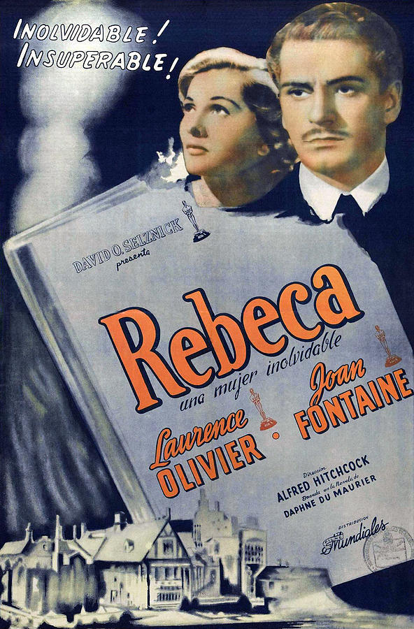 rebecca 2, With Laurence Olivier And Joan Fontaine, 1940 Mixed Media