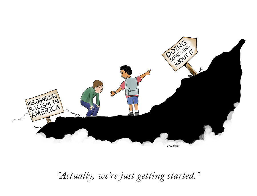 Actually, Were Just Getting Started Drawing by Victor Varnado