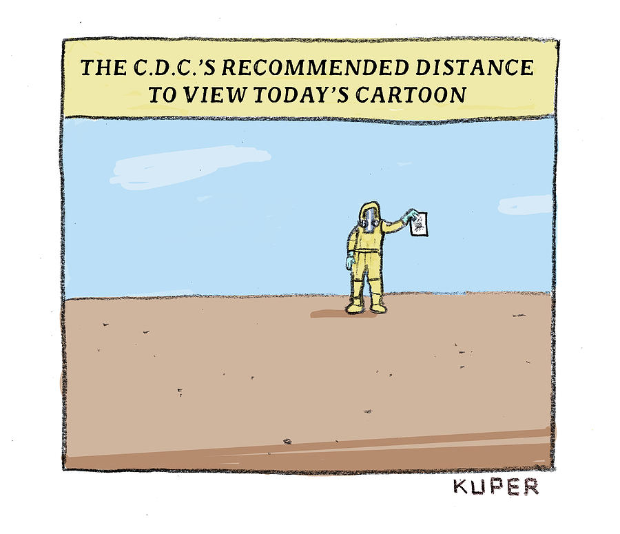 Recommended Distance Drawing by Peter Kuper