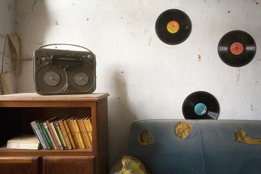 Records on the Wall by Roman Robroek