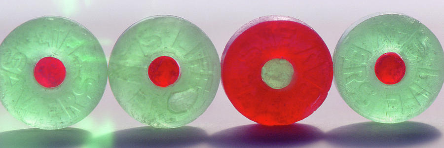 Red and Green Life Savers by Jerry Griffin