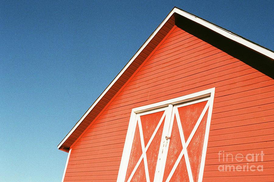 Red Barn Classic by Ana V Ramirez