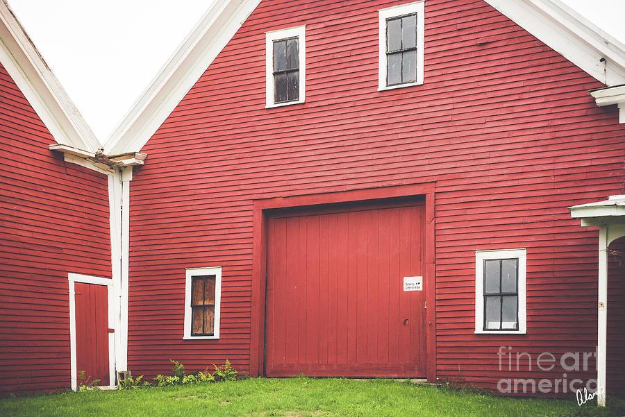 Red Barns Photograph