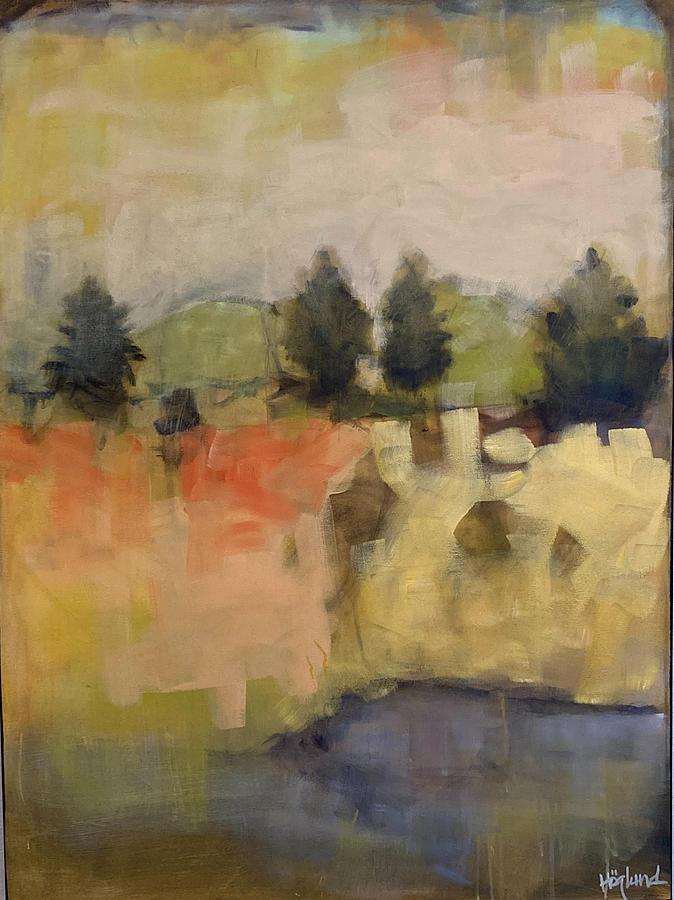 Red Fox Lane Painting