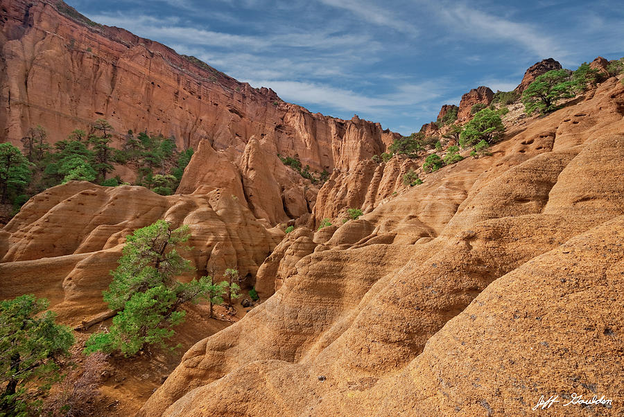 Arid Climate Photograph - Red Mountain Crater by Jeff Goulden