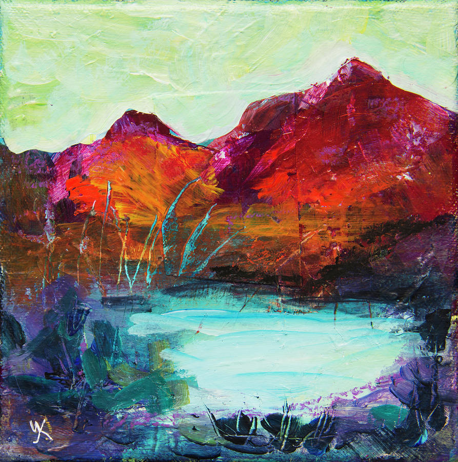 Red Mountains by Yulia Kazansky