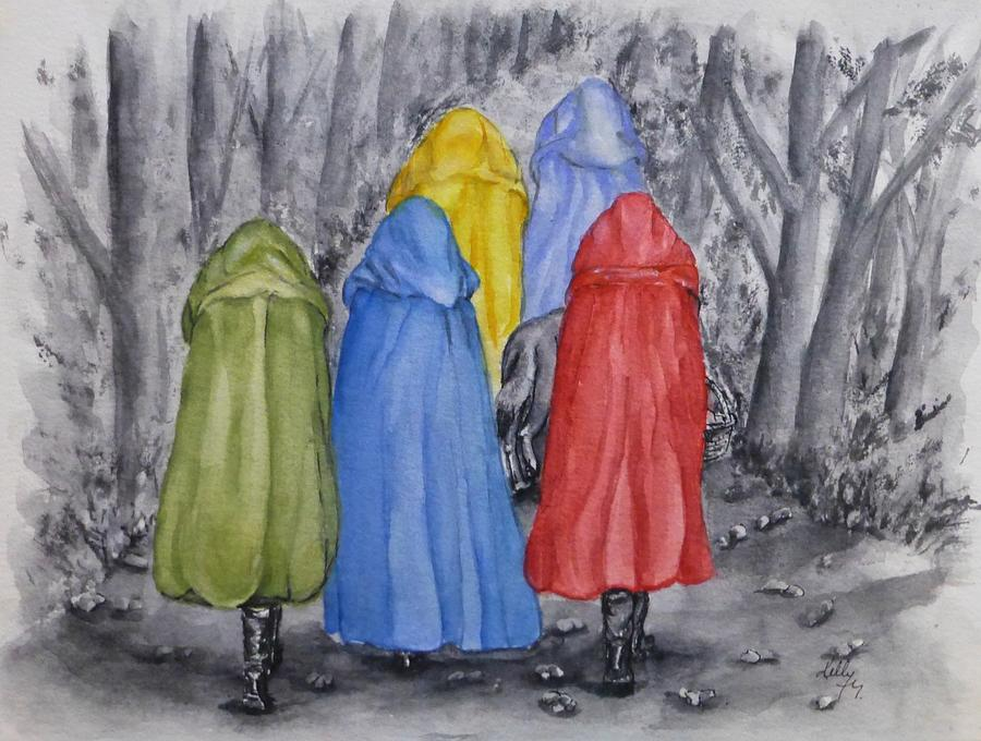 Red Riding Hood and Friends by Kelly Mills