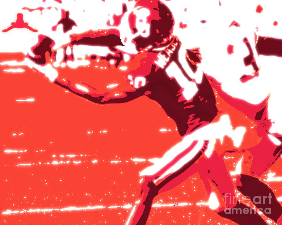 Td Painting - Red River TD by Jack Bunds